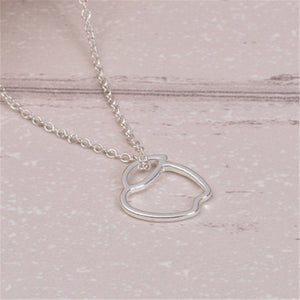 Hunger Awareness Link Chain Necklace