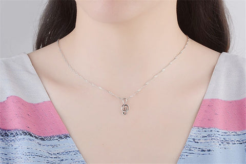 Musical Note Wish Necklace