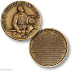 The Firefighter Prayer Coin