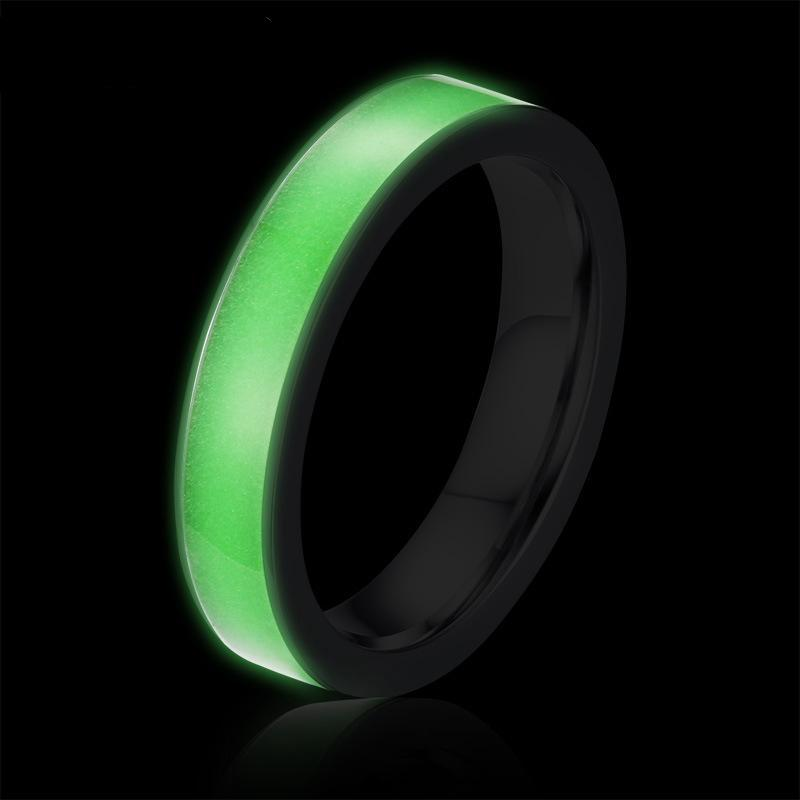 Mental Health Awareness Glow In The Dark Ring