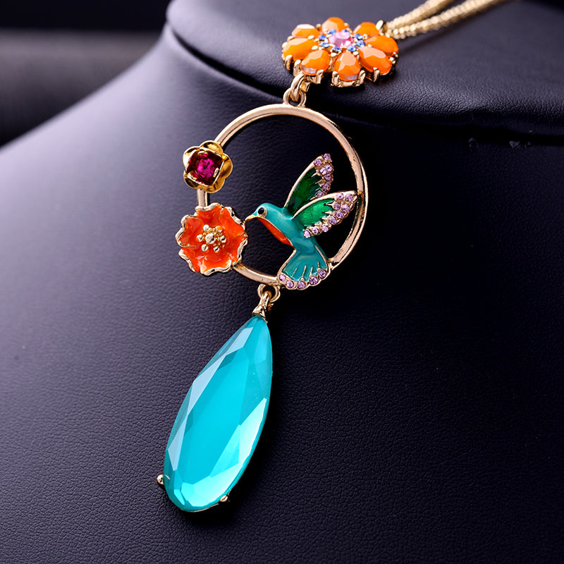 Charming Bluebird Necklace