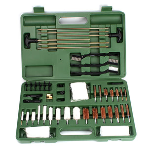 64 Piece Universal Gun Cleaning toolkit