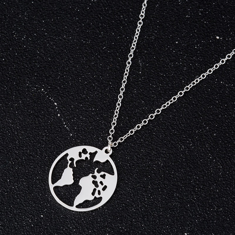 Save the Earth Pendant Necklace