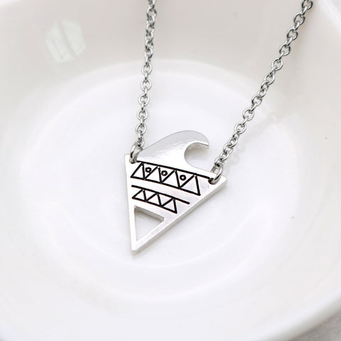 Triangle Surf Necklace