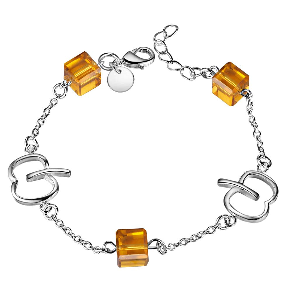 Hunger Awareness Link Chain Bracelet