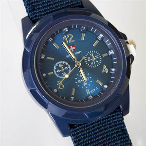 Canvas Military Watch