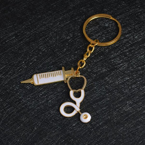 Medical and Insurance Facilities To Poor Key Chain