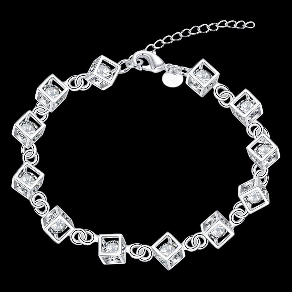 Adoption Awareness Zircon Charm Bracelet