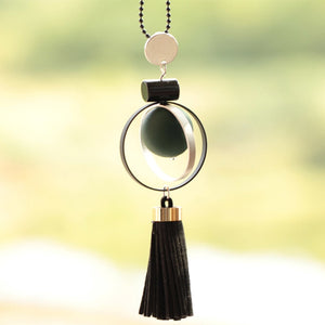 Tassel Bipolar Disorder Awareness Necklace