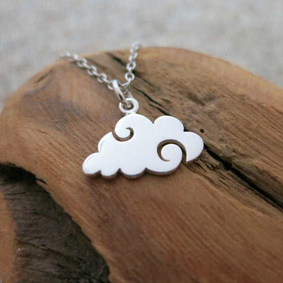 Hurricane Cloud Necklace