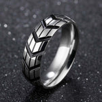Titanium Steel Tire  Ring
