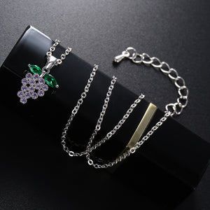 Fibromyalgia Awareness Link Necklace