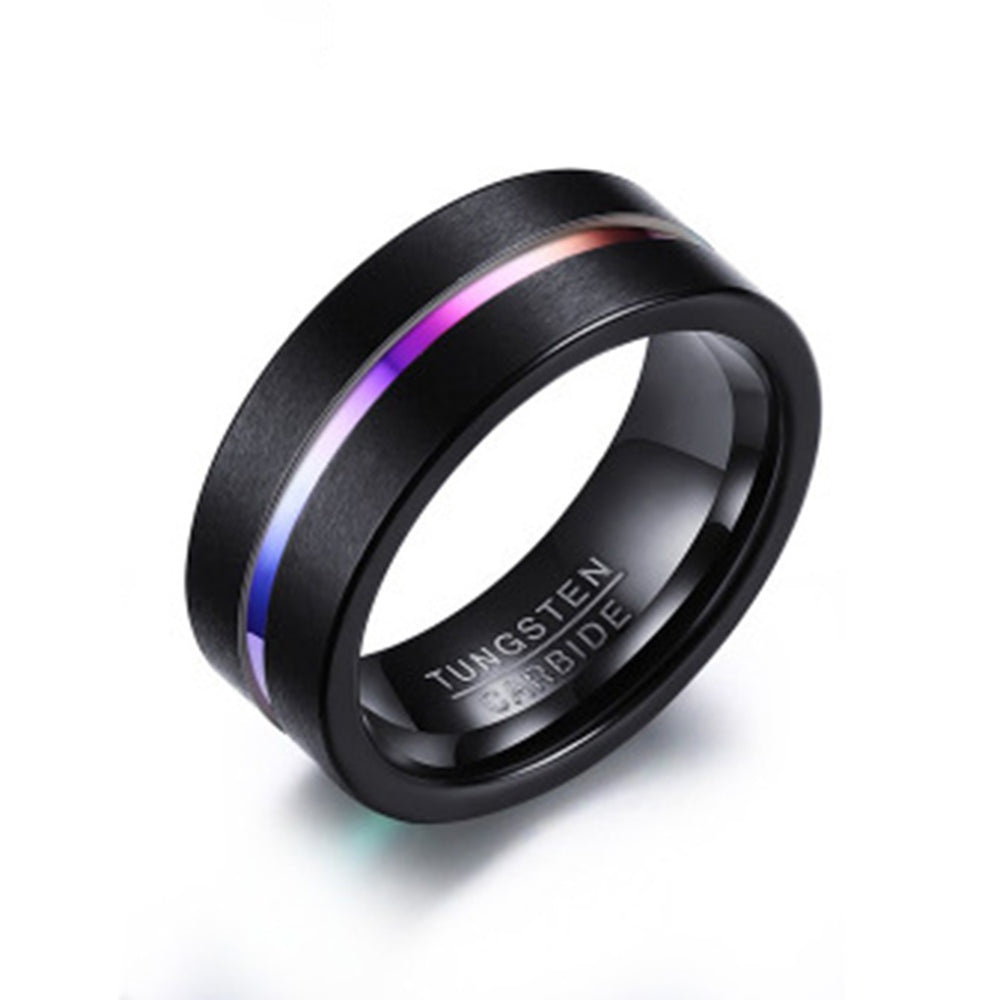 Domestic Violence Awareness Tungsten Carbide Ring
