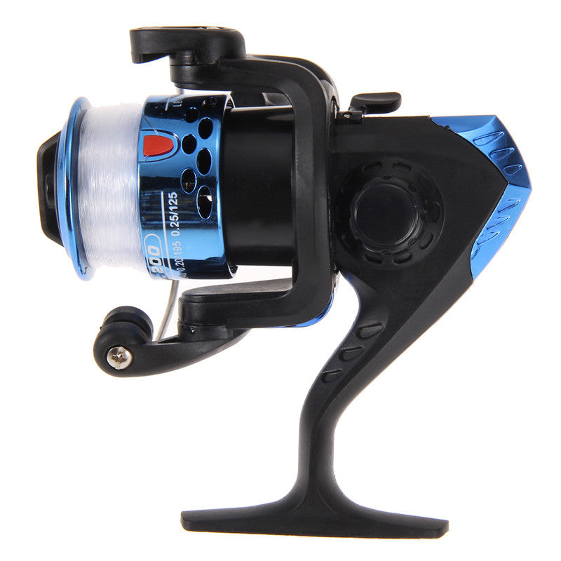 High-Strength Aluminum Fishing Reel with Line