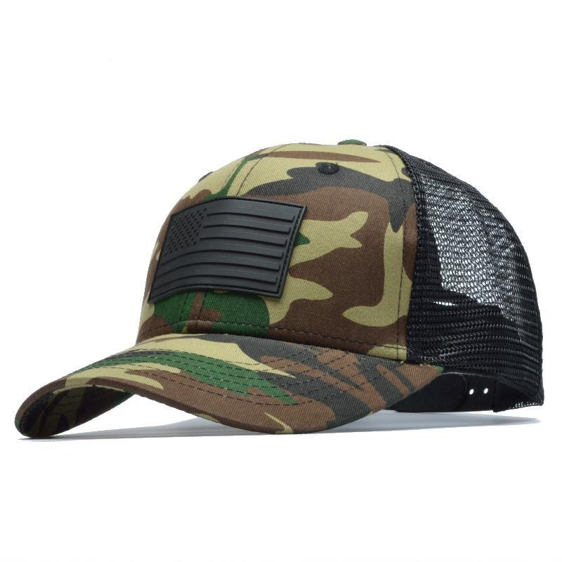Camo American Flag Trucker Hat – Aspire Gear 3478e4bd148