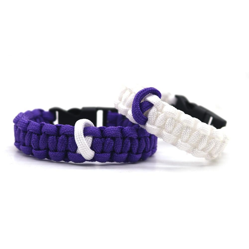 Pancreatic Cancer Awareness Paracord Bracelet