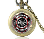 Firefighter Pride Pocket Watch