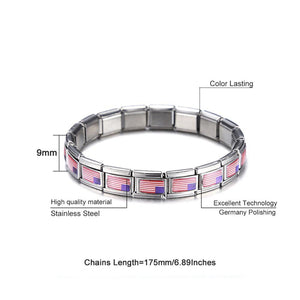 USA Stainless Steel Bracelet