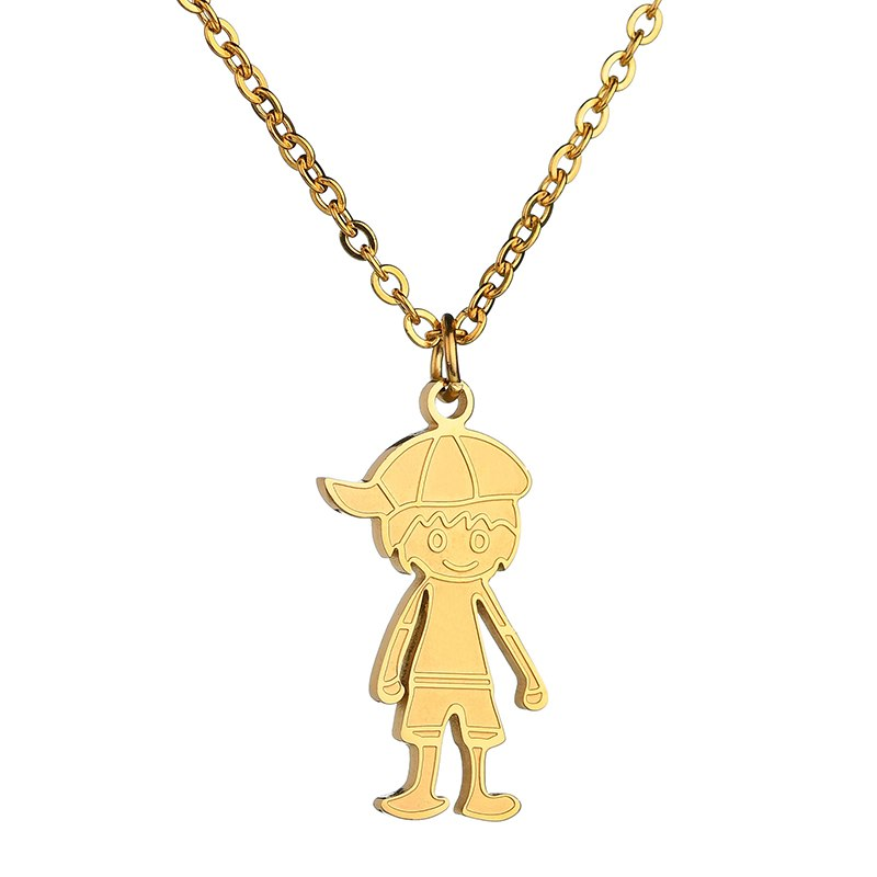 Save the Children Awareness Necklace