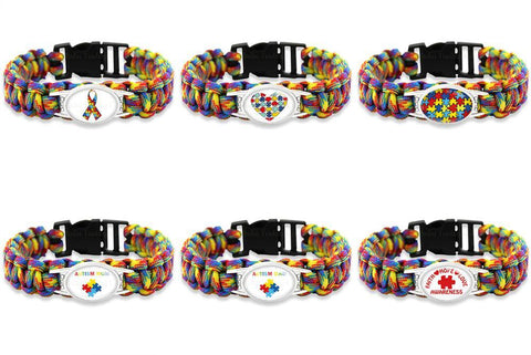 bracelet awareness rubber products expo multicolors the lot silicone kids in wristband puzzle autism promo have autistic grande i gift