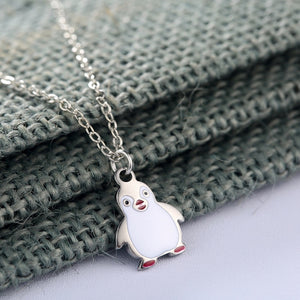 Save the Arctic Penguin Necklace