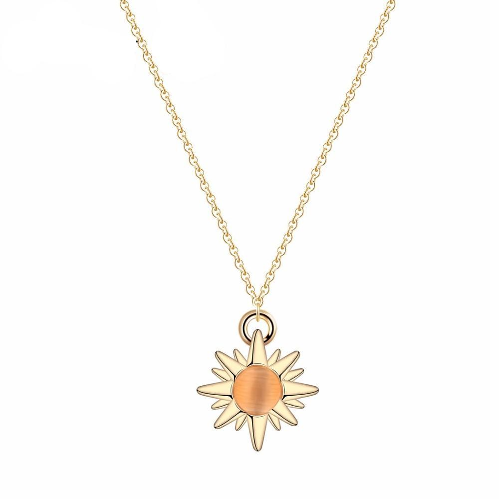 Sun Leukemia Awareness Necklace