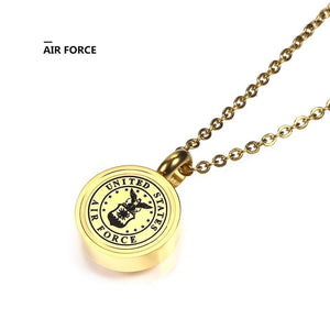 Gold Memorial Necklace