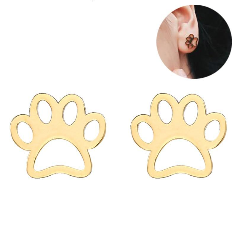 Dog Paw Rescue Earring