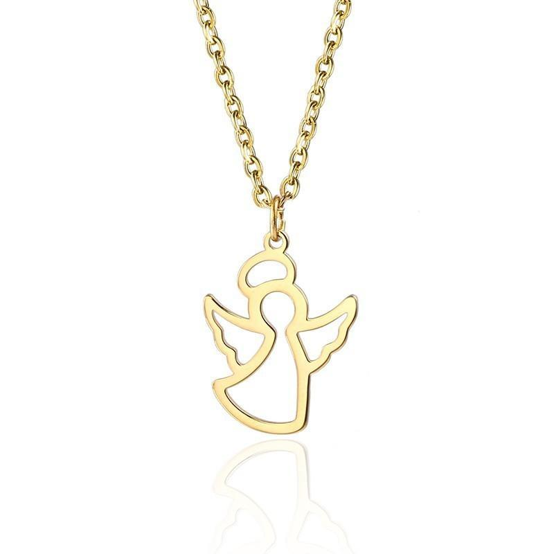 Simple Angel Necklace