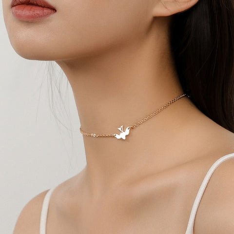 Dove Choker Necklace
