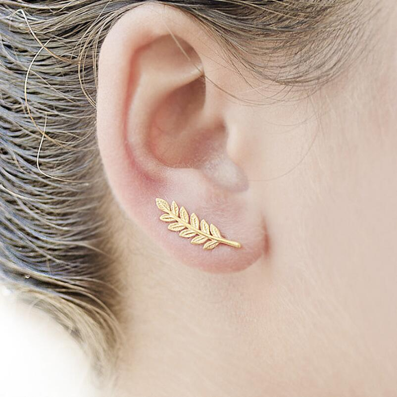Leaf Peace Earrings