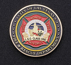 Las Vegas Firefighter Commemorative Coin