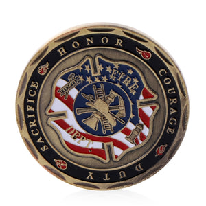 Firefighter Commemorative Coin