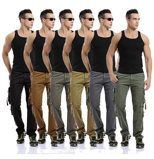 Military Grade 8 Pocket Cargo Pants