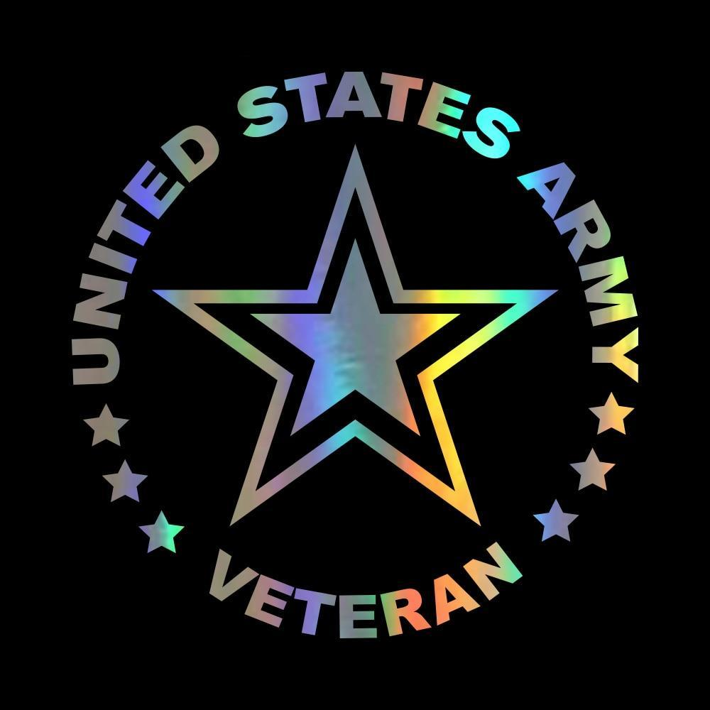 US Army Veteran Car Decal