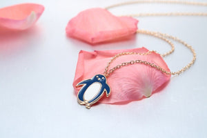 Happy Penguin Necklace