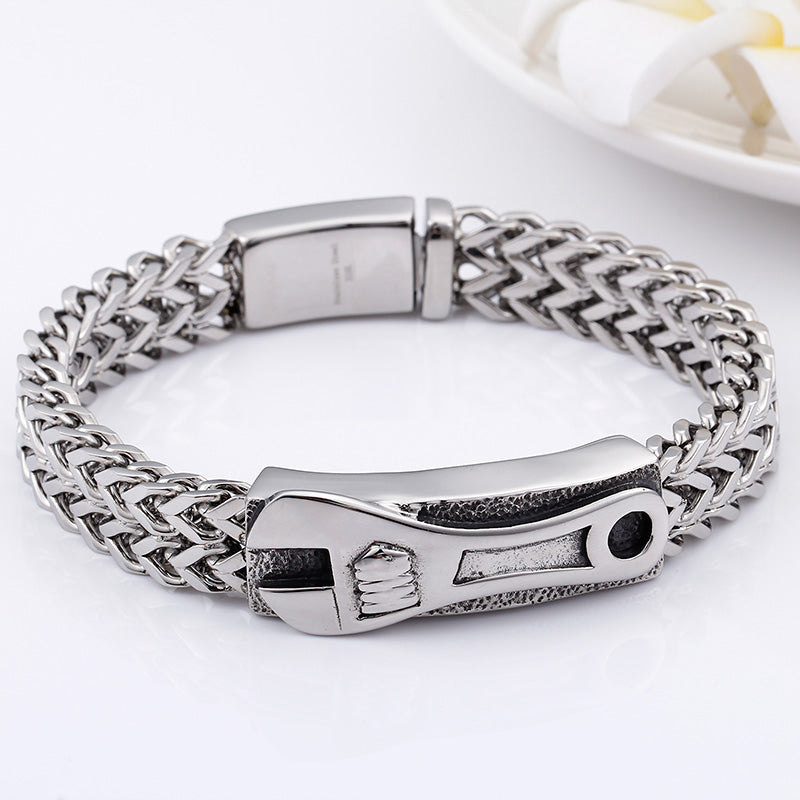 Adjustable Wrench Chain Bracelet