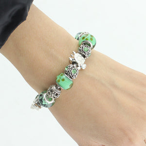 Sea Turtle Bead Bracelet