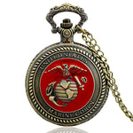 United States Marine Corps Pocket Watch