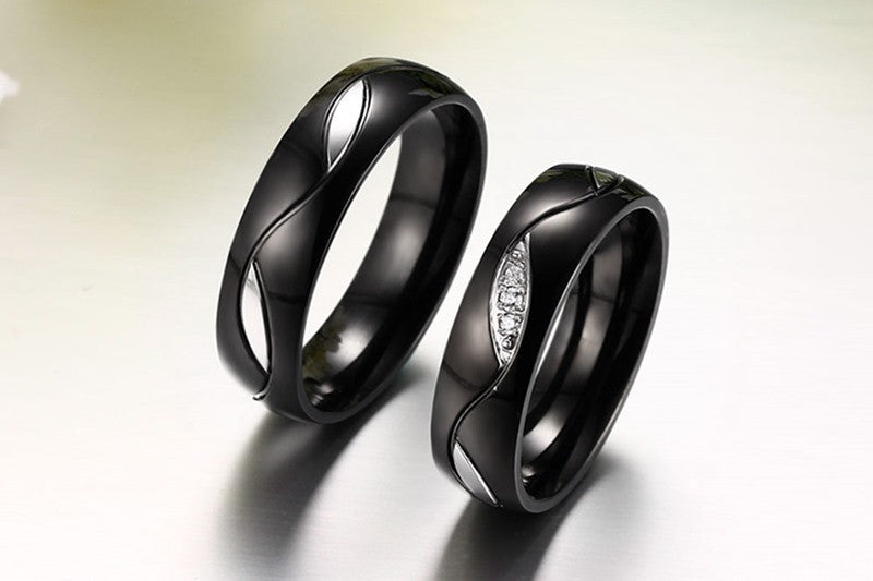 Army Black Support Ring