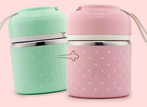 Premium Steel Layered Lunch Containers