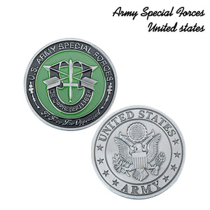 US Army Special Support Forces Coin