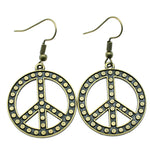 Spotted Peace Earrings