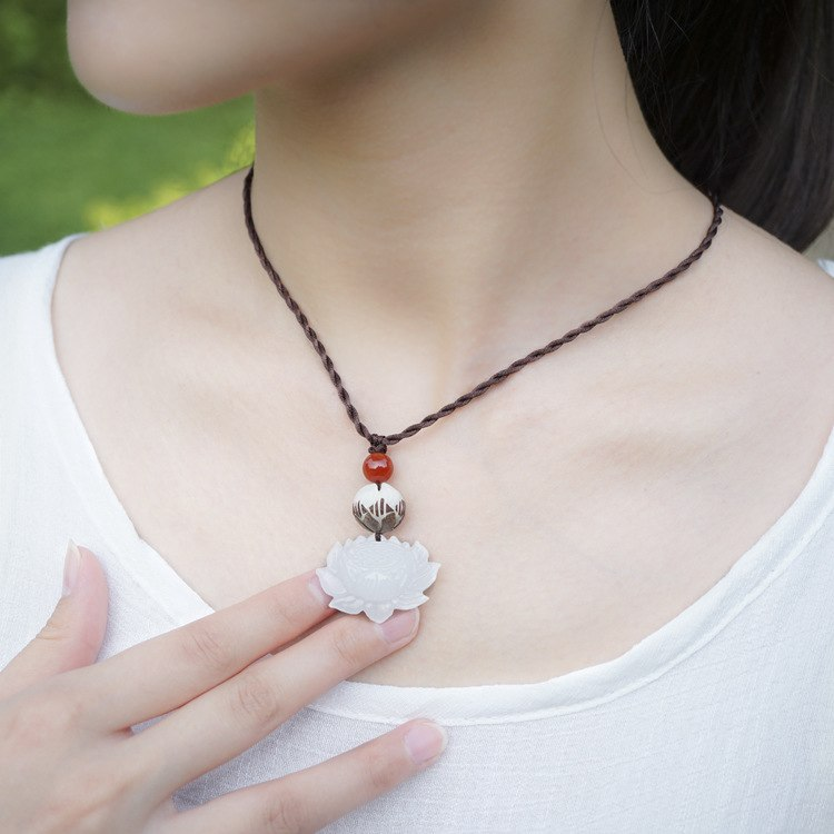 Bodhi Red Onyx Necklace