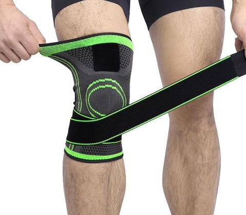 Elastic Strap Knee Support Pad