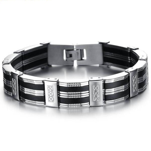 Black Line 2nd Amendment Support Bracelet