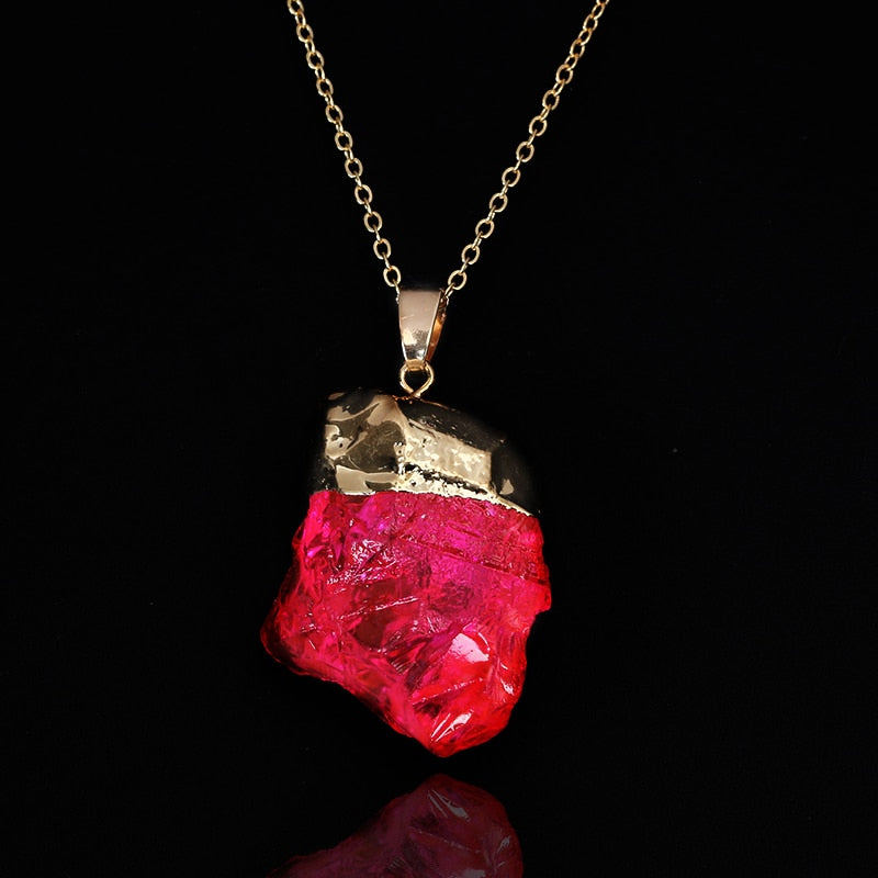 Blood Cancer/Disorders Quartz Necklace