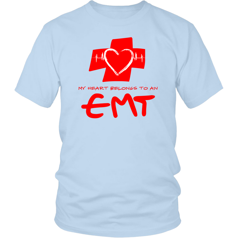 My Heart Belongs to An EMT Shirt (Men/Women)