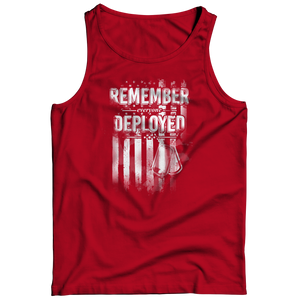 Remember Everyone Deployed (Red) Air Force Shirt/Tank/Hoodie
