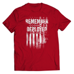 Remember Everyone Deployed (Red) Shirt/Tank/Hoodie